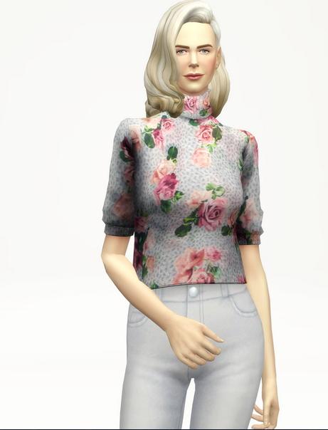 Rusty Nail: Half sleeves turtle neck sweater/pattern