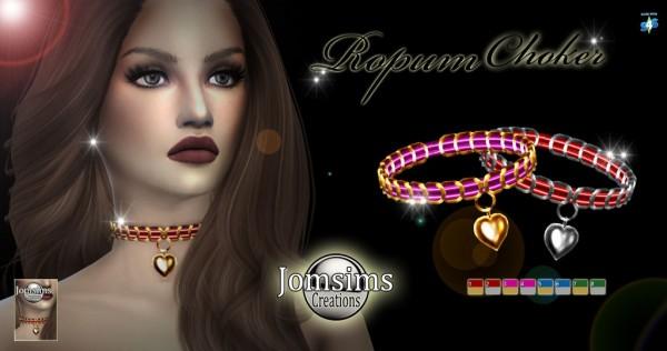 Jom Sims Creations: Ropum Choker