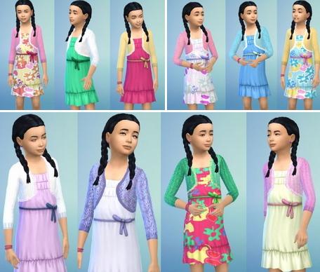 Birkschessimsblog: Girly's Bolero Dress
