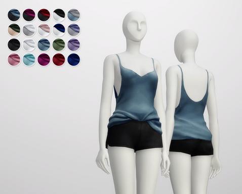 Rusty Nail: Nightwear v shape
