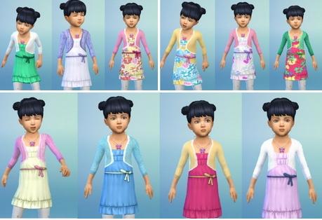 Birkschessimsblog: Toddler`s BoleroDress