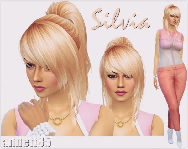 Annett`s Sims 4 Welt: Model Silvia