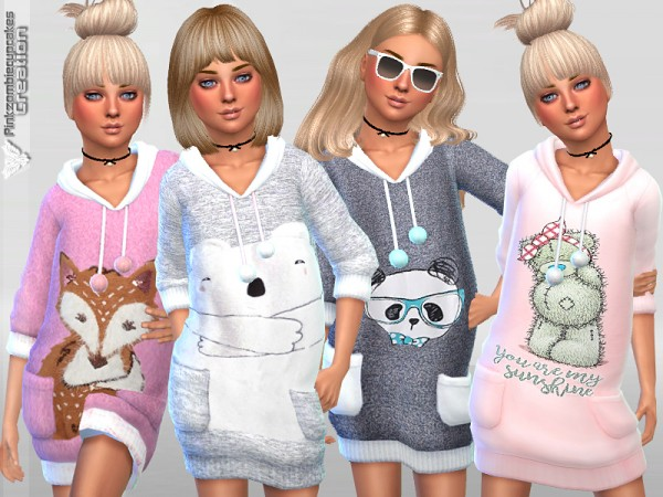 The Sims Resource: Child Sweaters Collection 05 by Pinkzombiecupcakes
