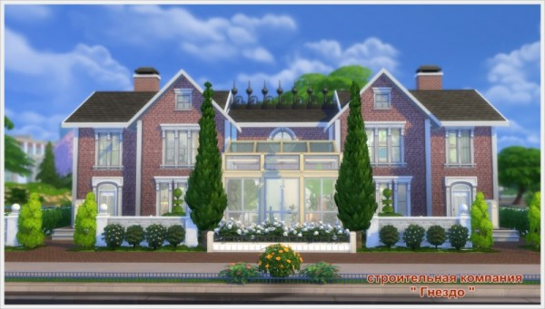 Sims 3 by Mulena: English house Charlis