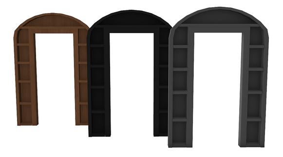 Sims 4 Designs: Burlap Bag Planter and Arch Shelf