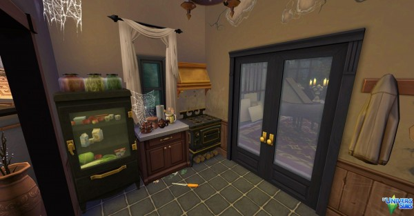 Luniversims: The haunted house by audrcami