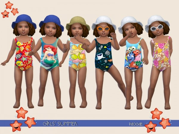 The Sims Resource: Girls Summer by Paogae