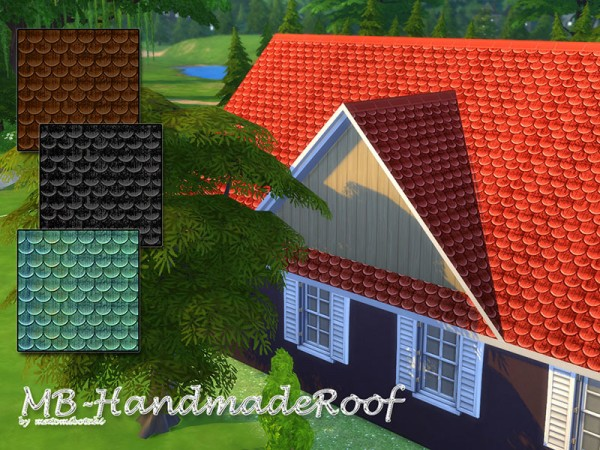 The Sims Resource: Handmade Roof by matomibotaki
