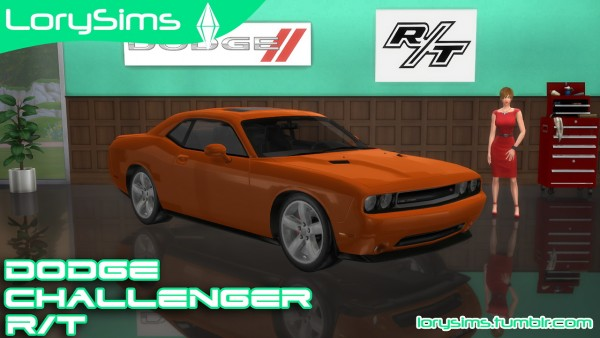 Lory Sims: Dodge Challenger R/T