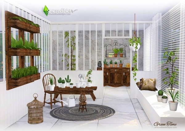 SIMcredible Designs: Green time