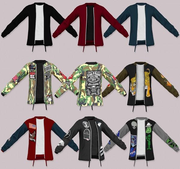 LumySims: Semller GSTAR Jacket