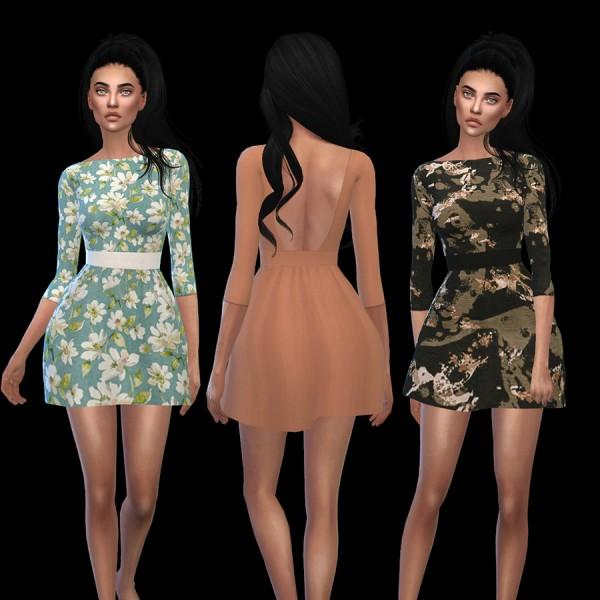 Leo 4 Sims: Voulez Vous Dress recolor