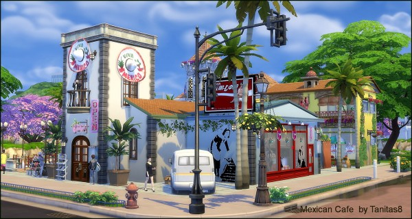Tanitas Sims: Mexican cafe and Mexican restaurant