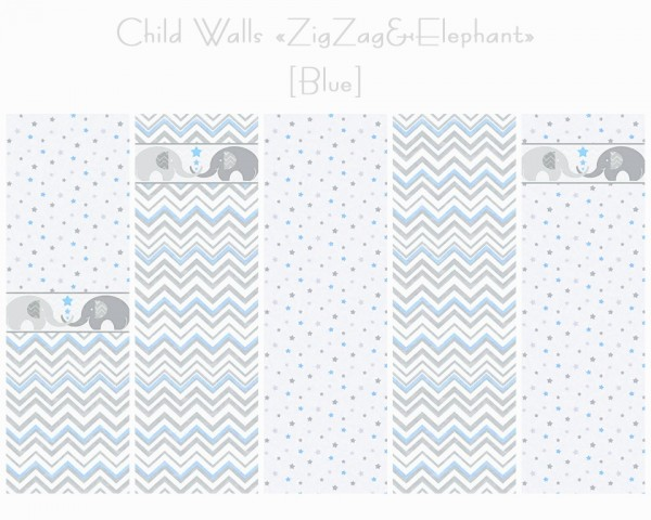 Helen Sims: ZigZag and Elephant   walls and floors