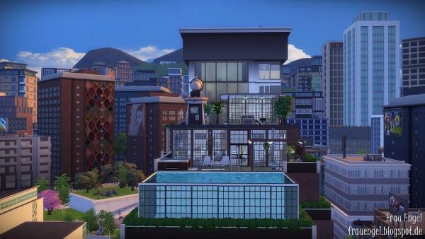 Frau Engel: Industrial penthouse