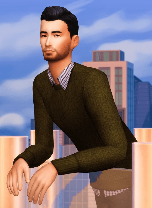 Marvin Sims: Layered Sweaters