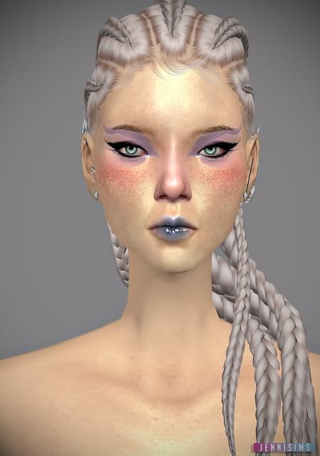 Jenni Sims Spring Petals Eyeshadow Sims 4 Downloads