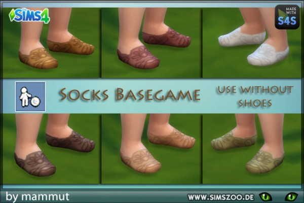 Blackys Sims 4 Zoo: Todd Shoes Nature 2 by mammut