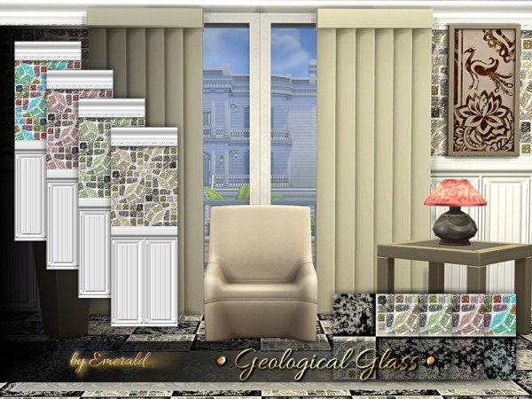 The Sims Resource: Geological Glass by emerald