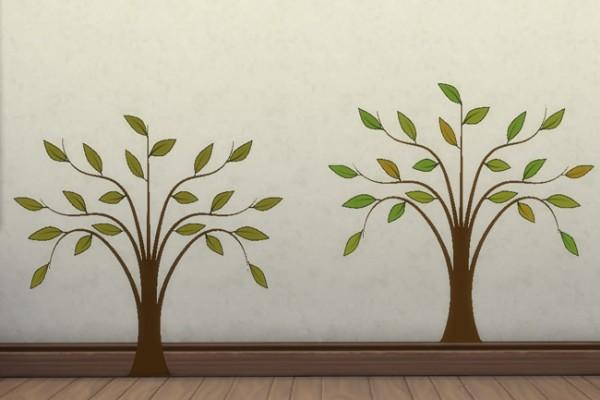 Blackys Sims 4 Zoo: Sticker Whispy Tree by mammut