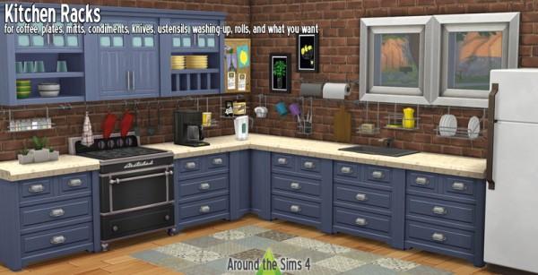 Around The Sims 4: Kitchen Racks