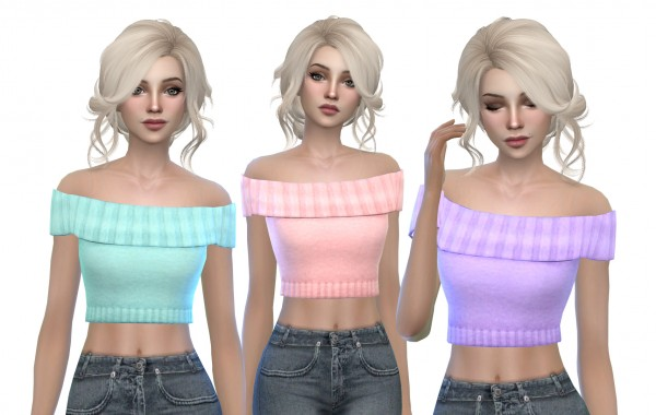 Mod The Sims: Carmen Blouse by MissCandy