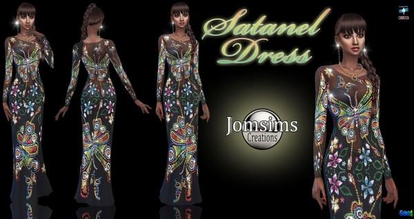 Jom Sims Creations: Satanel dress
