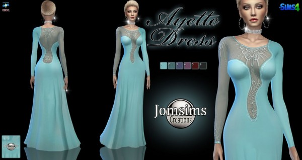 Jom Sims Creations: Ayette dress
