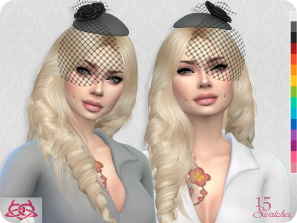 The Sims Resource: Set Headdress and Belt by Colores Urbanos