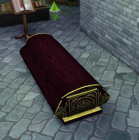 Simsworkshop Coffin By Biguglyhag Sims 4 Downloads