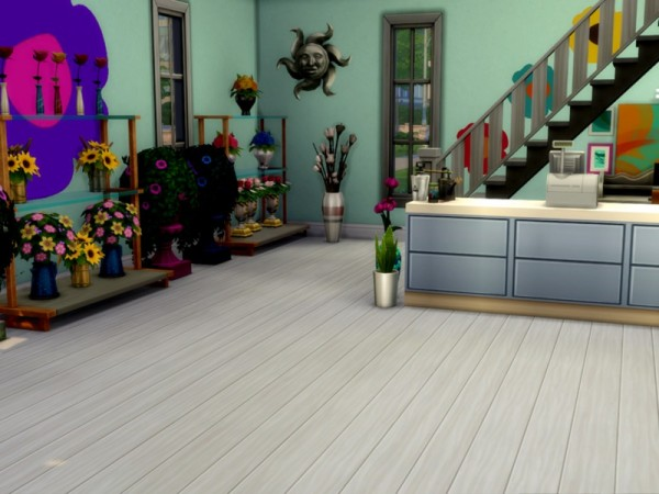 The Sims Resource: Flower Shop by selarono