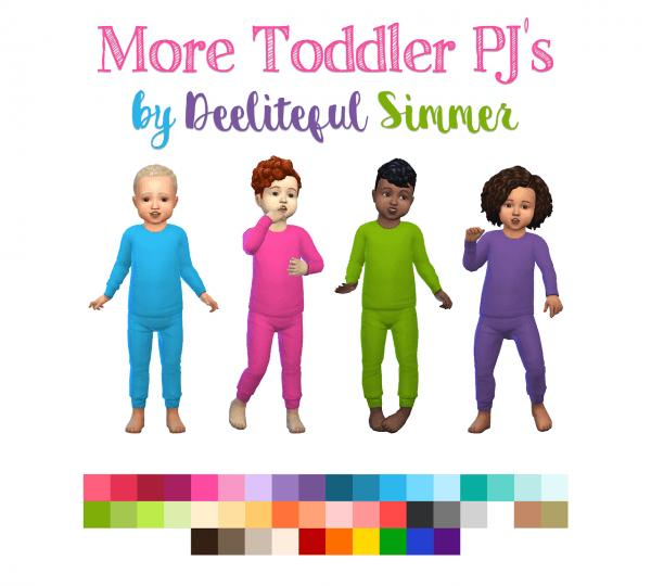 Deelitefulsimmer: More toddlers PJ`s