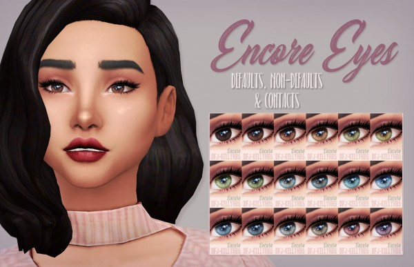 Mod The Sims: Encore Eyes by kellyhb5