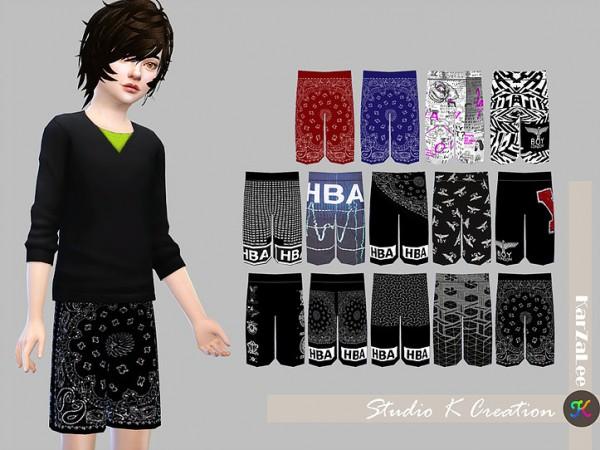 Studio K Creation: Giruto 18 Boardshort   child version