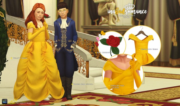 In a bad romance: Beauty and the Beast : Children mini set