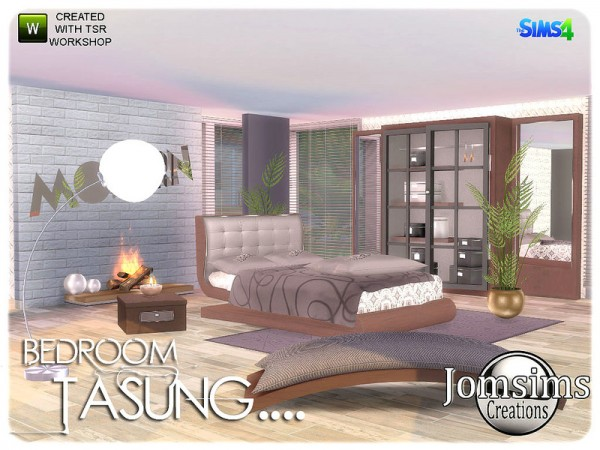 The Sims Resource: Tasung Bedroom by jomsims