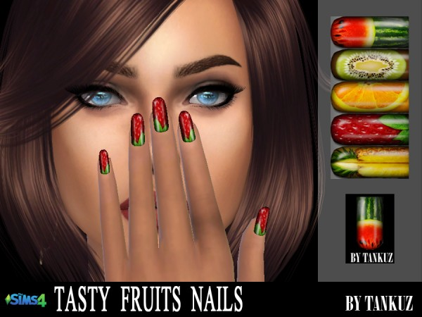 Tankuz: Tasty Fruits Nails