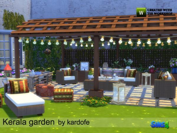 The Sims Resource: Kerala garden by Kardofe