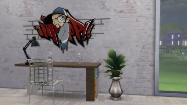 Khany Sims: Bad Boys walls stencils