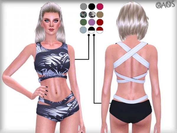 The Sims Resource: Tres Bikini Set by OranosTR