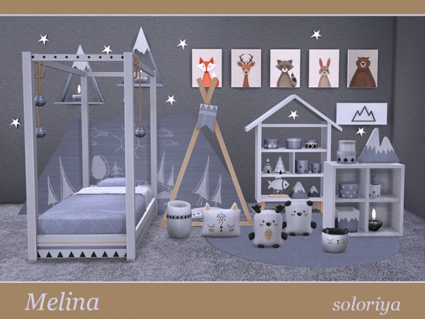 The Sims Resource: Melina kidsroom by Soloriya