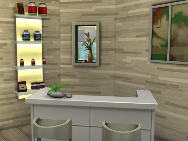 The Sims Resource: Spa and sports center by flubs