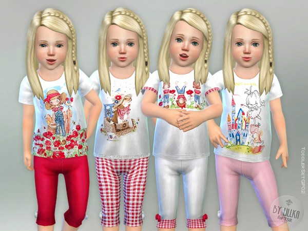 The Sims Resource: Toddler Set GP02 by lillka