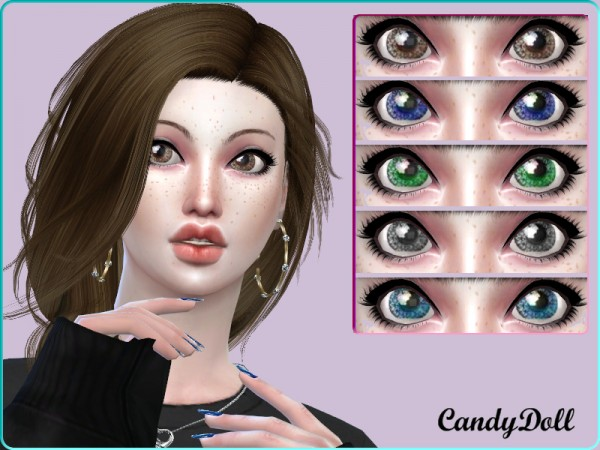 The Sims Resource: Cutie Dolly Eyes by CandyDoll
