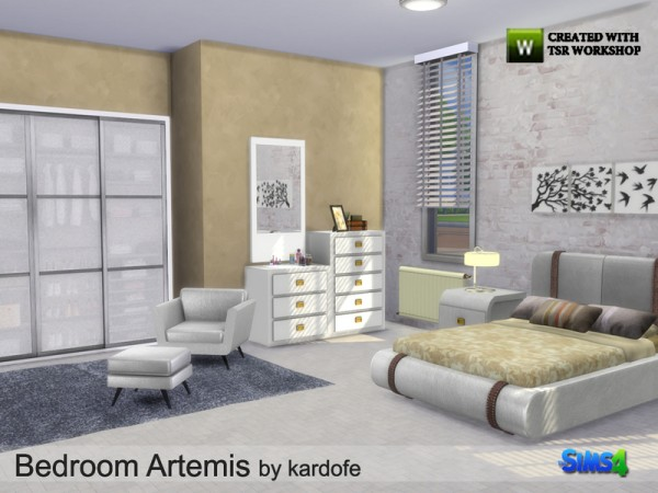 The Sims Resource: Bedroom Artemis by kardofe