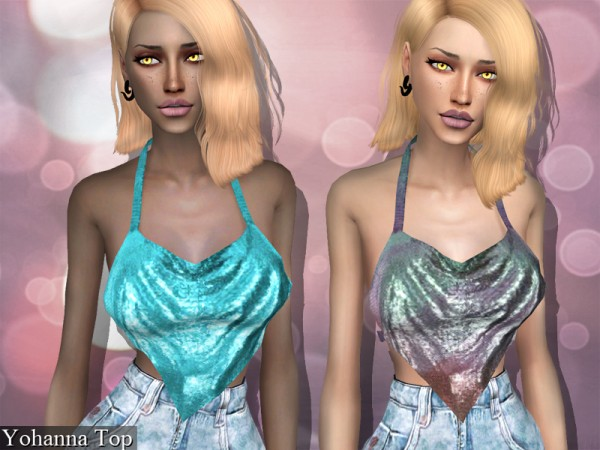 The Sims Resource: Yohanna Top by Genius666