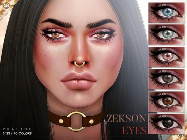 The Sims Resource: Zekson Eyes N133 by Pralinesims