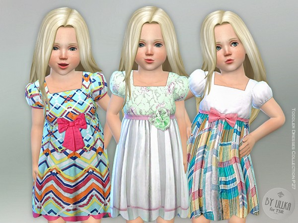 The Sims Resource: Toddler Dresses Collection P27 by lillka