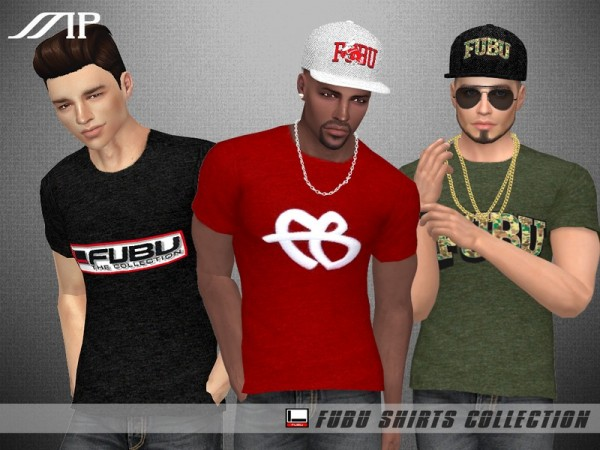The Sims Resource: FUBU Collection (Shirts) by MartyP