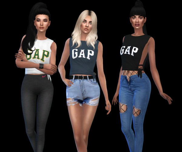 Leo 4 Sims: G Shirts recolored